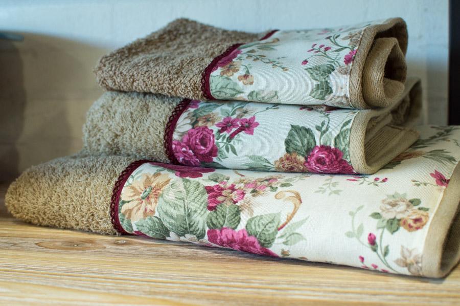 Juego de toallas personalizadas